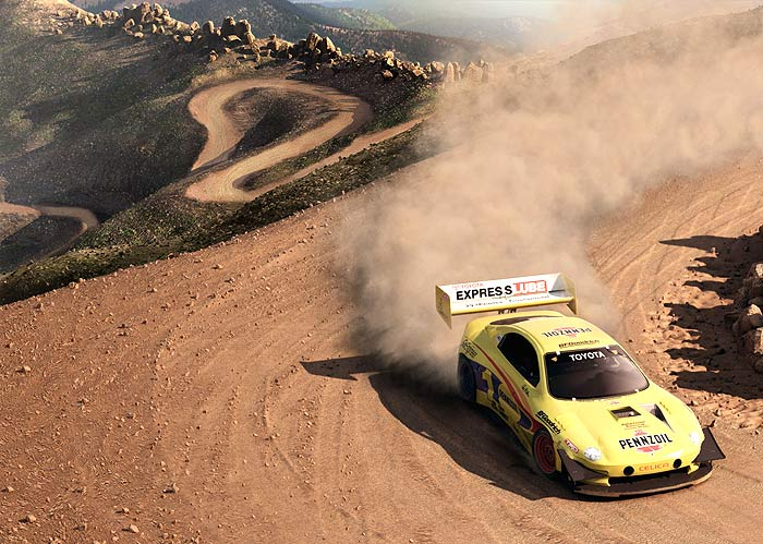 "Baixe o demo do simulador ""Colin McRae: DIRT"""