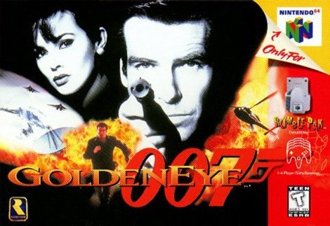 Capa 007 Goldeneye